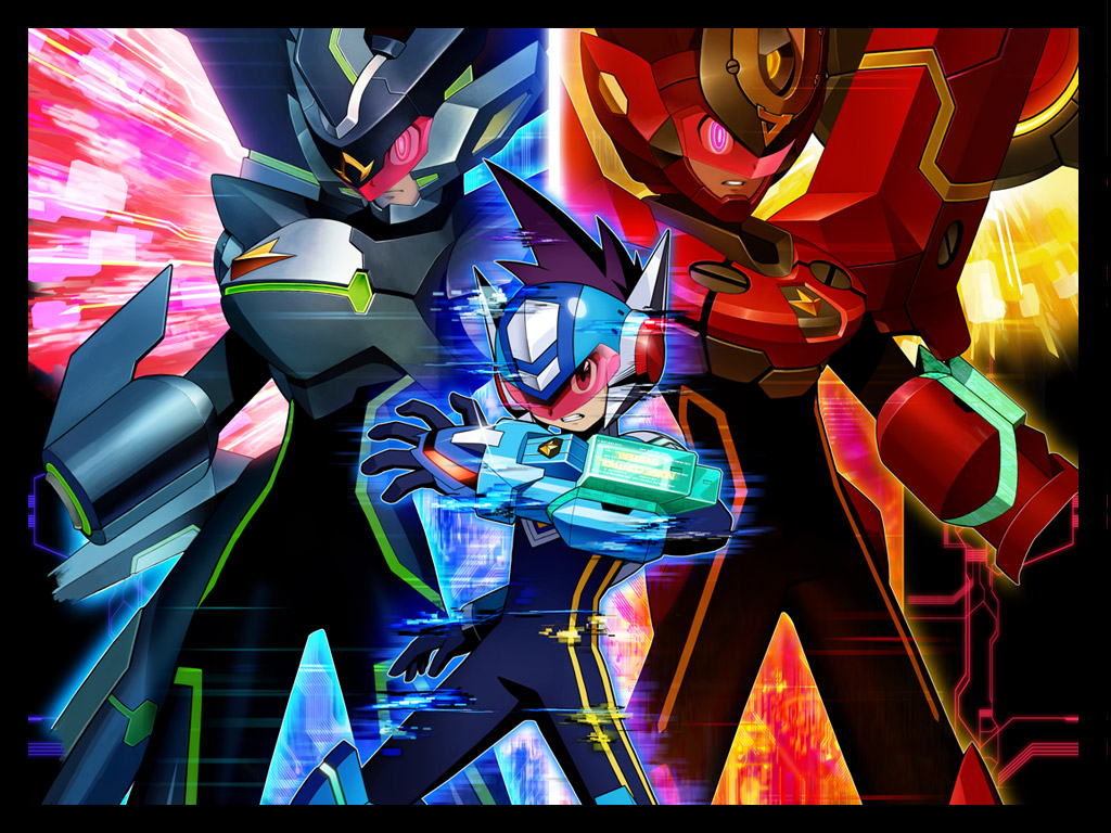Megaman HD & Widescreen Wallpaper 0.374172618614679