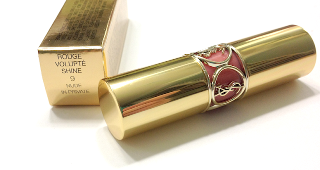 YSL Rouge Volupté Shine - #9 Nude in Private