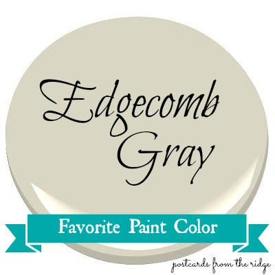 Postcards from the Ridge: Favorite Paint Color ~ Benjamin Moore ...