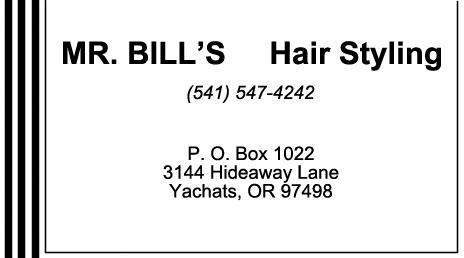 Mr. Bill's Hair Styling