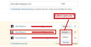 change admin
