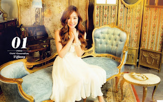 SNSD Tiffany Desk Calendar 2013