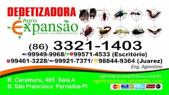DEDETIZADORA AGRO EXPANSÃO