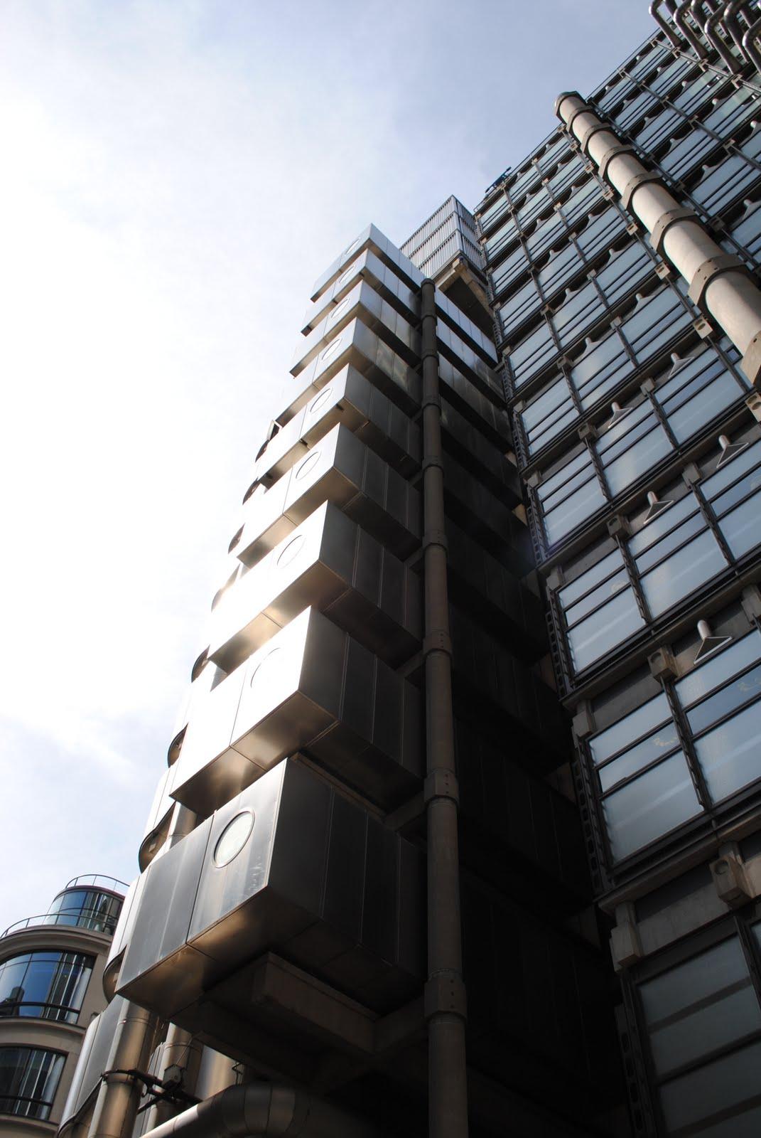 D Exhibition Model : Dove lloyds building richard rogers london