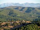 Cal Martí i el Vilaró des del Bosc de Matamala