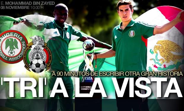 Nigeria vs Mexico EN VIVO - VER GRATIS | Pamboleros