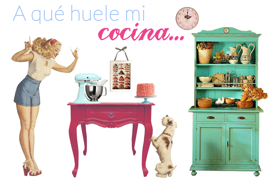 A qué huele mi cocina ...