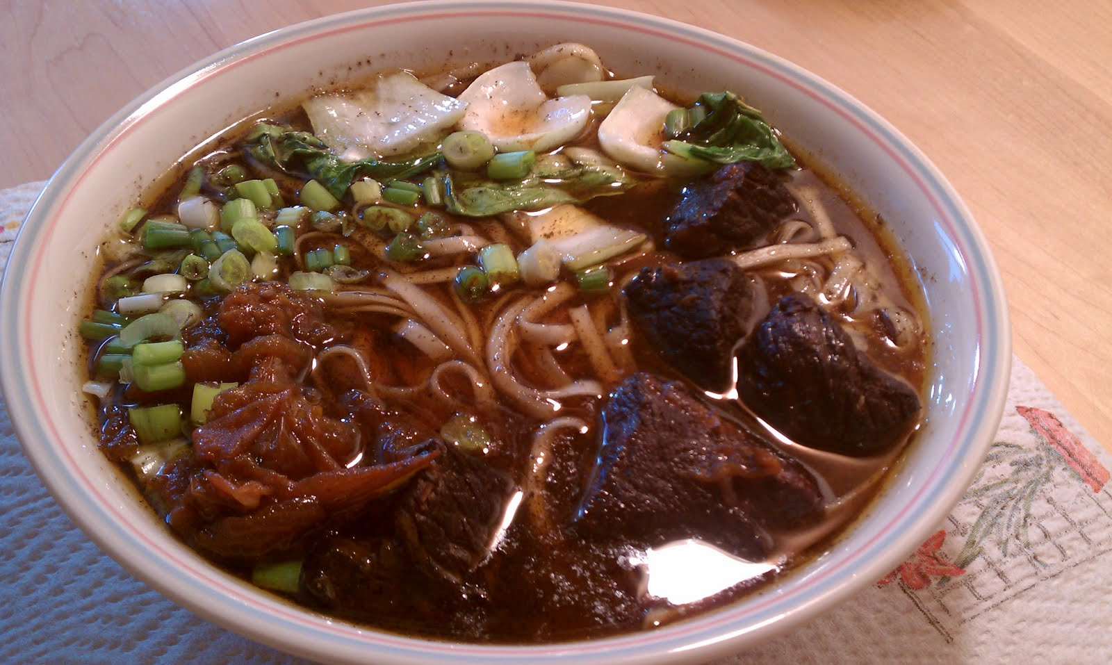 ... taiwanese beef noodle soup recipe on food52 taiwanese beef noodle soup