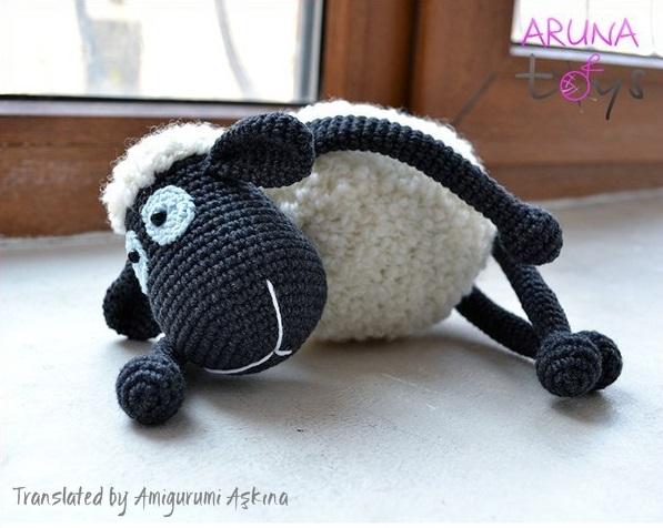 Amigurumi Yapılışı : Amigurumi mor koyun yapılışı amigurumi sheep free pattern tiny