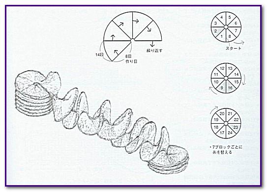 Спиральный пэчворк спицами