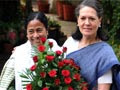 Mamata & Sonia after defeating Lefts
