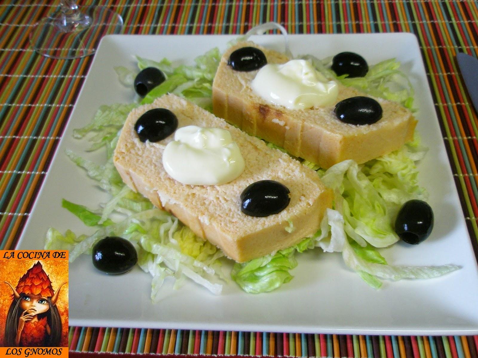 La cocina de los gnomos pastel de merluza camarones y surimi al microondas - Cocinar pescado en microondas ...