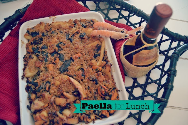 Paella a modo mio - Shabby&CountryLife.blogspot.it