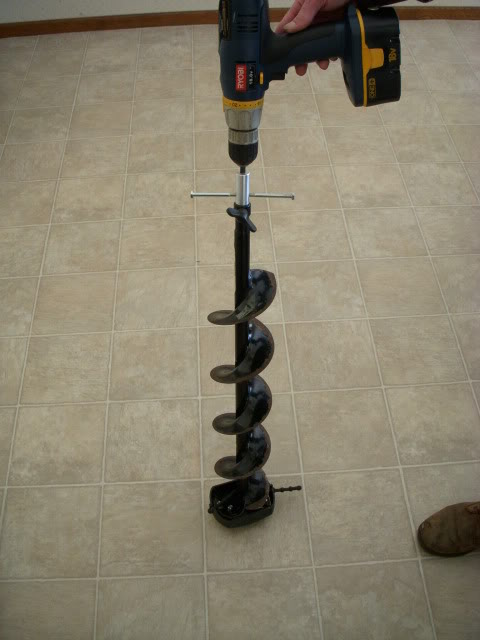 Ice Auger Drill Adapter2