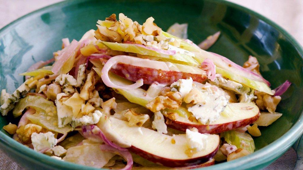 Вальдорфский салат - Рецепт - Салаты - Ресторан  дома