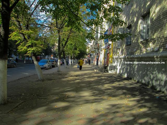 Осень, Славянск