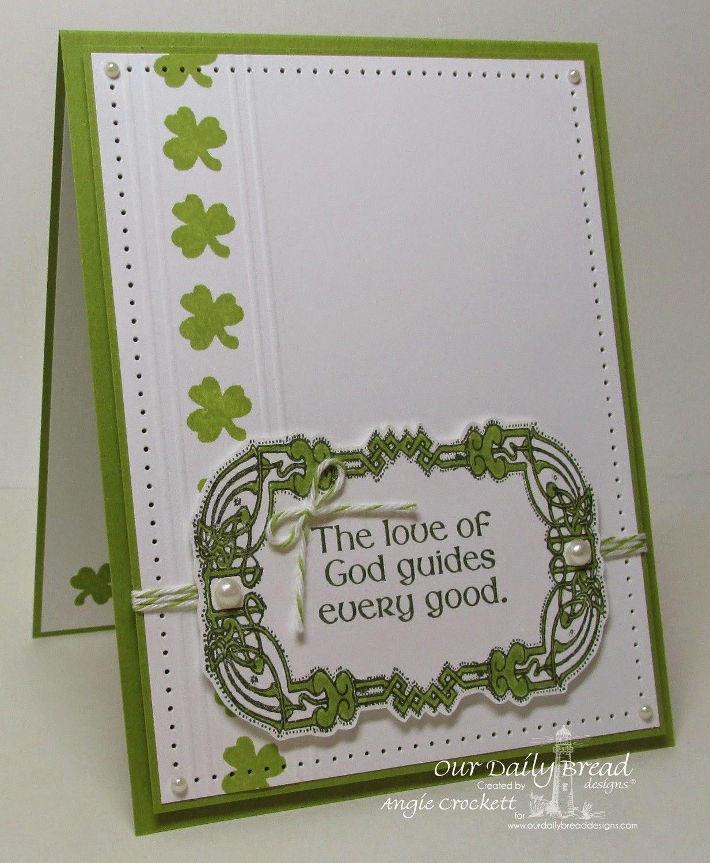 ODBD St Patrick's Day, Card Designer Angie Crockett