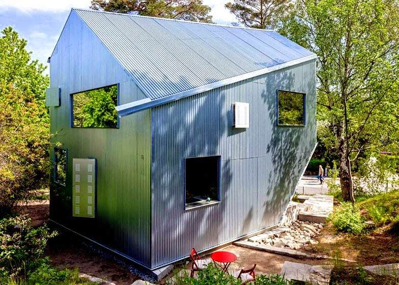 By The Well Known Swedish Architect Tommy Carlsson Is Called A Happy Cheap  House Is Not Apparent. Sadly To Me The Prefabricated ...