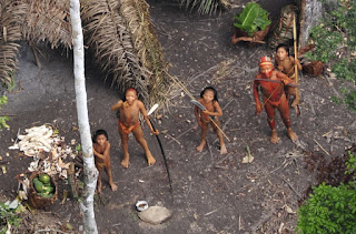 uncontacted tribe Look: The first ever footage of an uncontacted tribe goes viral!