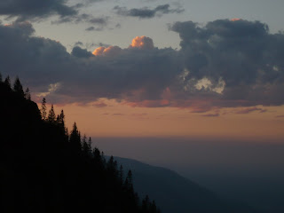 Letztes Licht überm Alpenvorland