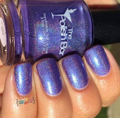 Addicted To Holos Indie Box, The Polish Bar Purple Mist