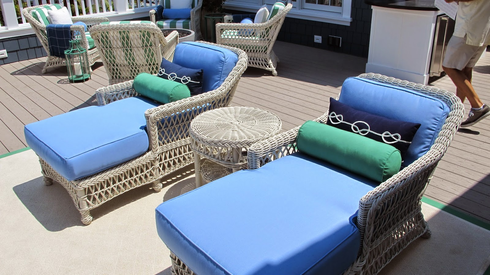 Nautical by Nature | Coastal Living Showhouse: Second Floor Rooftop Decks