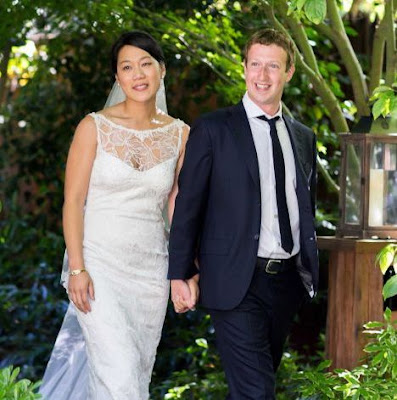 Facebook CEO, Mark Zuckerberg tied the knot with his longtime sweetheart Priscilla Chan