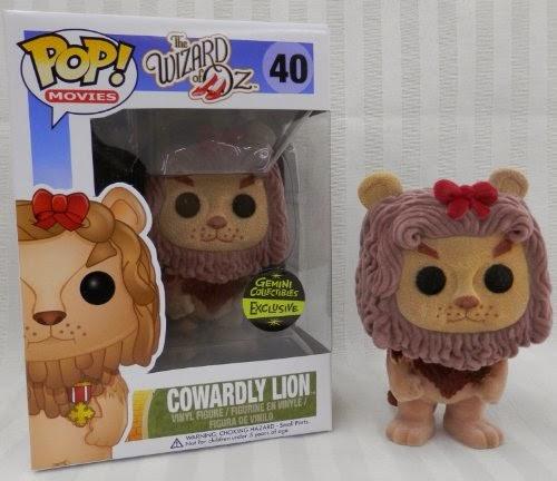 Funko Pop! Cowardly Lion Flocked