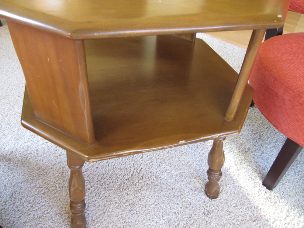 This is beige ugly duckling refinishing a 39 70s coffee table for Coffee tables 70s