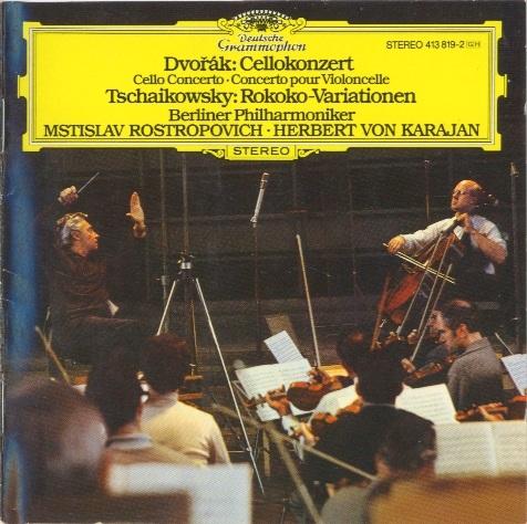 Antonín Dvořák - Mstislav Rostropovich , Czech Philharmonic Orchestra, The* Czech Philharmonic Orchestra·, Václav Talich - Concerto For Cello And Orchestra In B Minor Opus 104 / Overture: Othello Op. 93