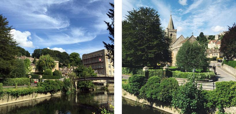 The beautiful Bradford on Avon!