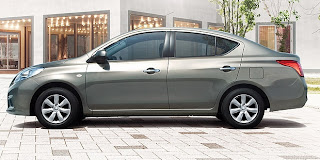 Nissan All-New Latio Sedan 2013 Harga dan Spesifikasi