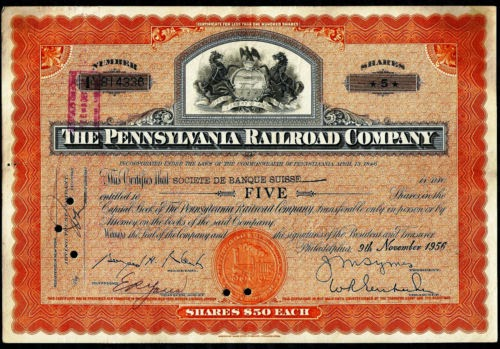 old-stock-certificate