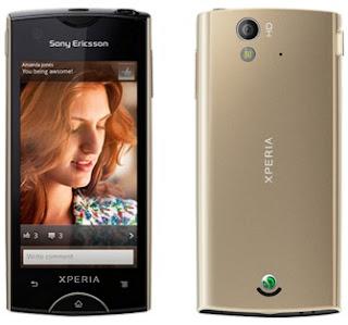 Sony Ericsson Xperia Ray HP Android Kamera 8 MP harga dibawah 2 juta rupiah