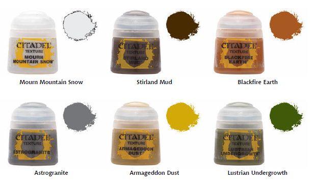 Syncs Wargaming Citadel Texture Paints Review