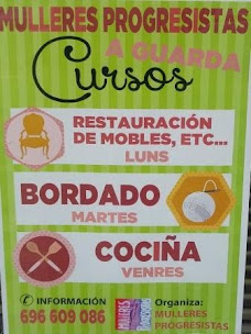 A GUARDA: MULLERES PROGRESITAS ORGANIZA VARIOS CURSOS.