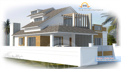 Veedu plan and elevation joy studio design gallery for Veedu plan and elevation
