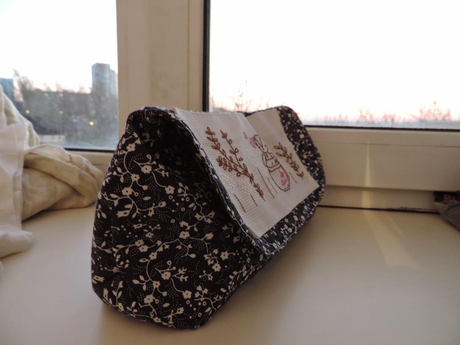 сумочка с вышивкой, сумочка своими руками