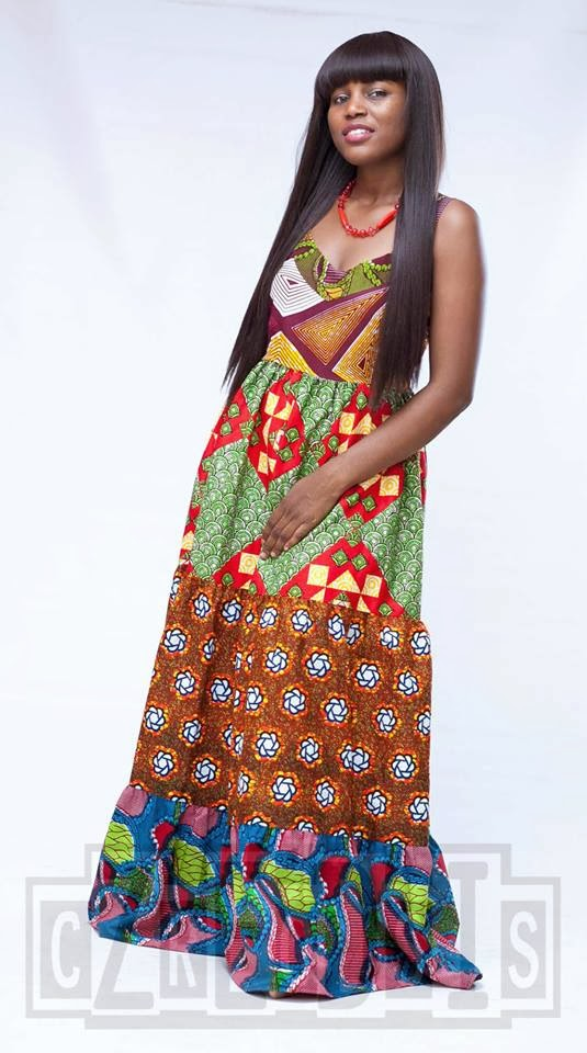 Subira Wahure Official African Couture Blog: KITENGE;MAXI DRESS