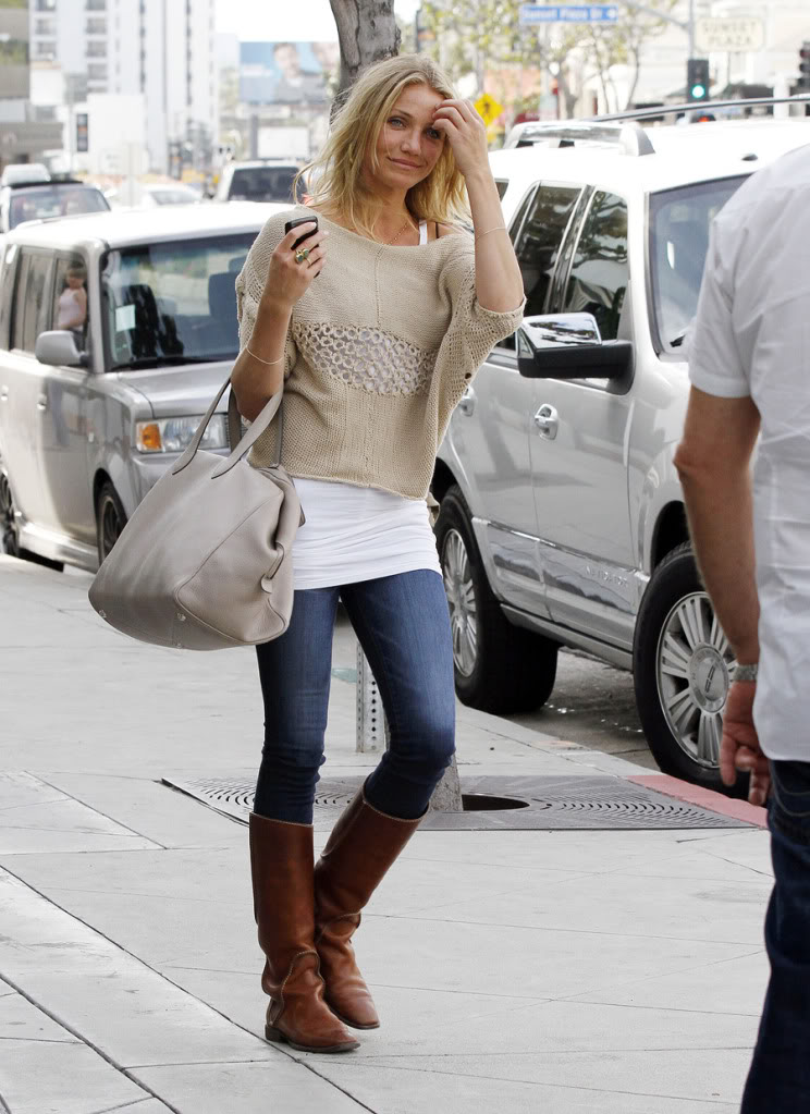 Cameron Diaz Look Casual
