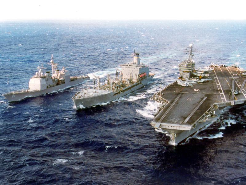USS John F. Kennedy US Aircraft Carrier