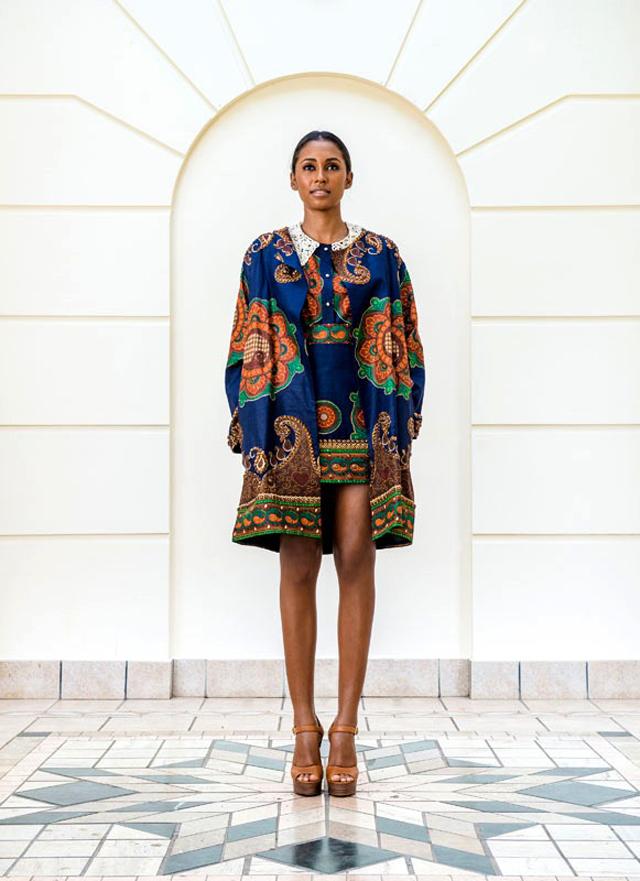 Mozambican Designer -Taibo Bacar's F/W 2013 lookbook