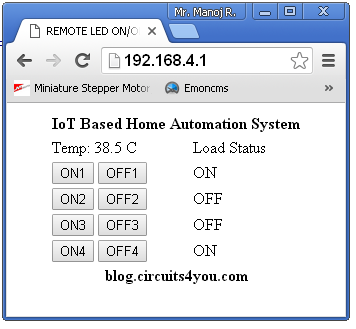 For More Information On IOT See Getting Started Tutorial From Top Menu