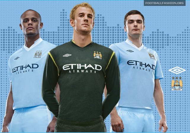 New Man City Home Strip.