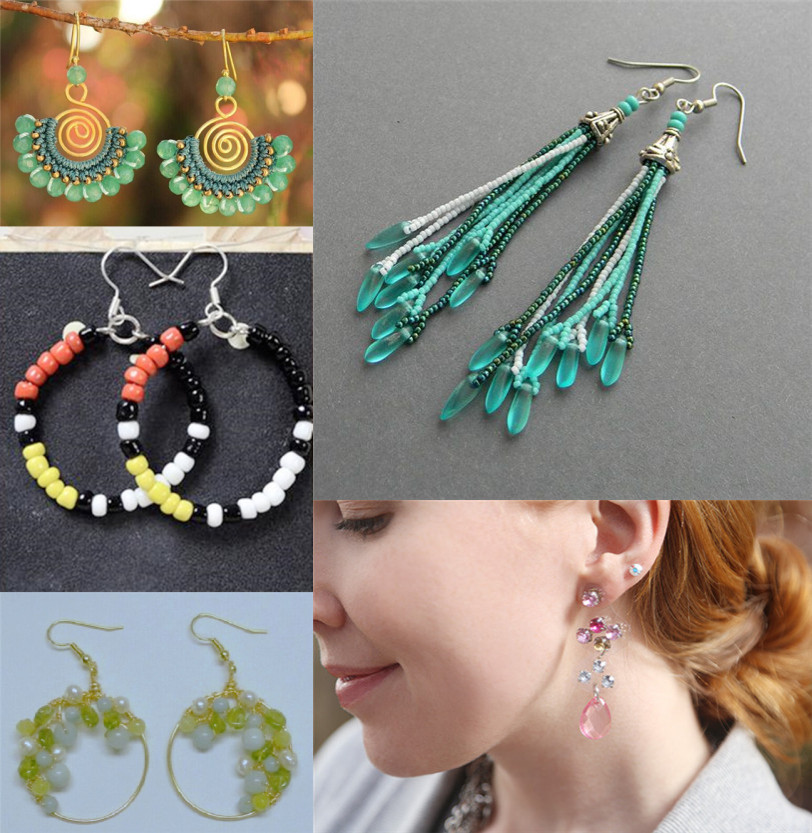 Crafting Wire: Top 5 Beaded Earrings Roundup
