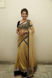 Actress Madhu Shalini Latest Pictures in Saree at Seethavalokanam Press Meet  053.jpg