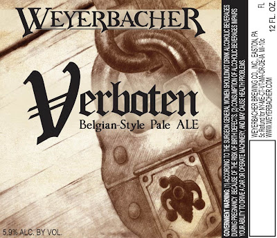 Weyerbacher Verboten Label