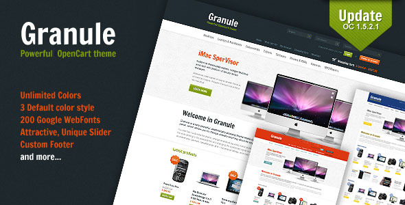 Granule-powerful-OpenCart-theme