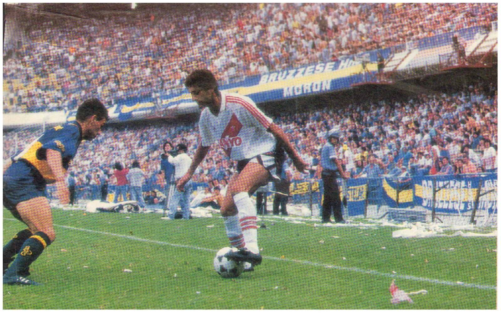 Enzo FRANCESCOLI Boca Juniors vs River Plate Apertura 1994 0 3