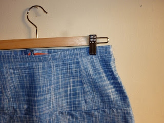 Photo of new me-made Vogue 1247 (V1247) skirt